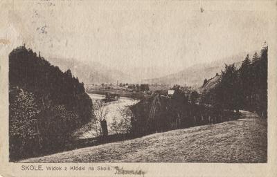 Вид з Колодки на Сколе