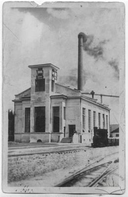 Electrical power station of baron Groedel