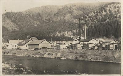 View of baron Groeldes' sawmill