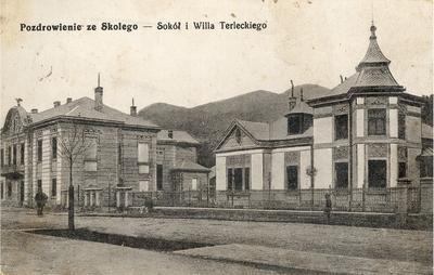 Будинок Сокола та вілла Терлецького