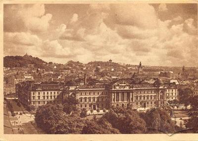 Панорама міста та університет