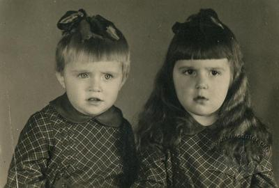 Children at the beginning of 1950s