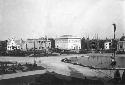 Main square of the General Regional Exhibition