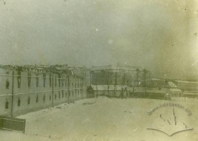 Ruined Ferdinand barracks