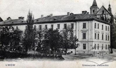 Німецька гімназія (тепер СШ №8)