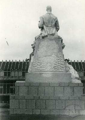 Back side of the Monument to the General-Colonel Edward Bem-Ermoli