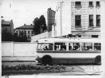 Trolleybus on 700-ricchia street