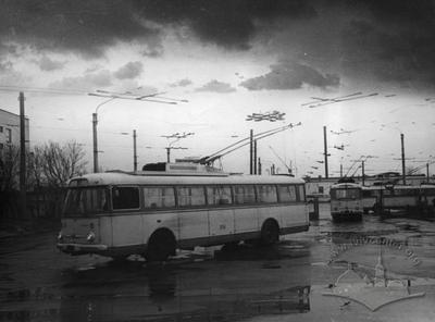 "Trolleybus depot №3 LKP ""Lvivelektrotrans"" on Troleybusna street, 1"