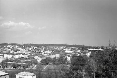 Panorama of the eastern part of the city from the Hill of Glory