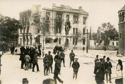 Зруйнований будинок в Тернополі
