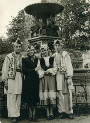 Портрет на площі Міцкевича