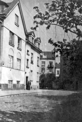 Lychakiv. Ostrozkykh Street, early 1960s