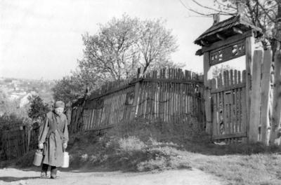 Zamarstyniv, Ya. Rainisa St., late 1950s
