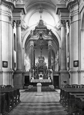 Sacrament sisters' church interior