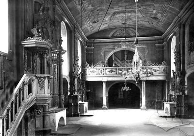 St. Ann church interior