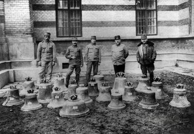Bells, requisitioned in the First World War