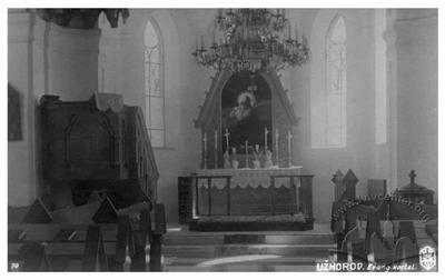 Інтер'єр євангелістського костела
