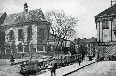 Ujejskiego Street (today - Bibliotechna)