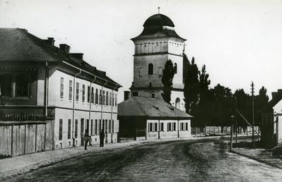 Khmelnytskoho street. Photo reproduction