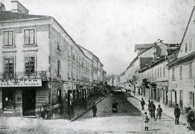 Вулиця Дорошенка. Репродукція фото