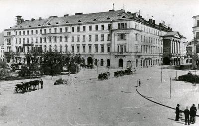 Театр Марії Заньковецької (колишній театр Скарбка) на вул. Л. Українки, 1. Фоторепродукція