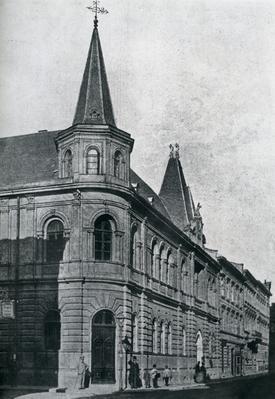Building at 8 Dudajeva St. Photoreprodaction