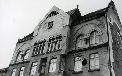 Верхня частина будинку на вул. Франка, 8