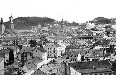 View of Lviv from the Citadel