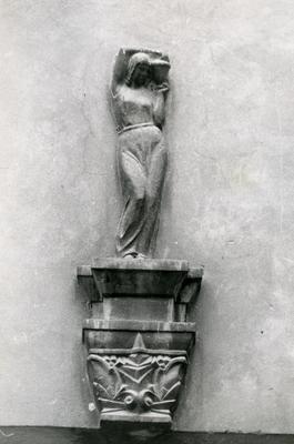 Sculpture on a building façade