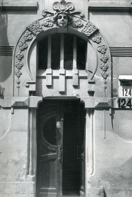 Main entrance at 124 Franka St.