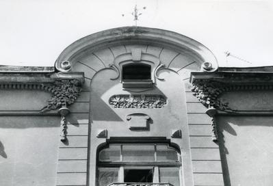 Uppermost part of the building at 126 Franka