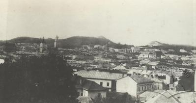 Panorama of Lviv from Citadel