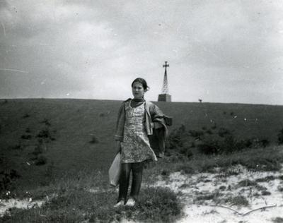 Shashkevych cross in Novosilky on the White mountain