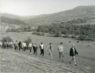 Lviv Secondary School №4; Hiking in Mountains