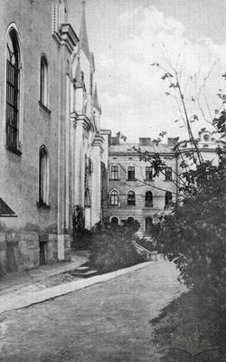 View of teaching-educational institution Sacre Coeur