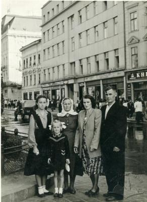 Family Portrait at Svoboda avenue