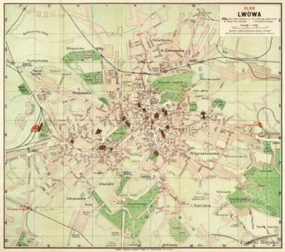 Plan of Lwów