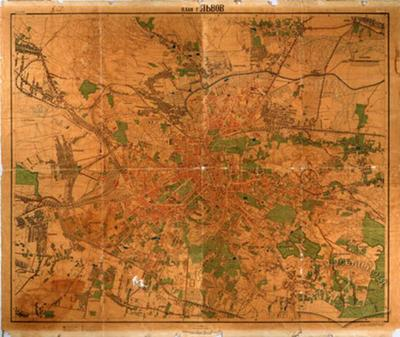 Plan of Lvov