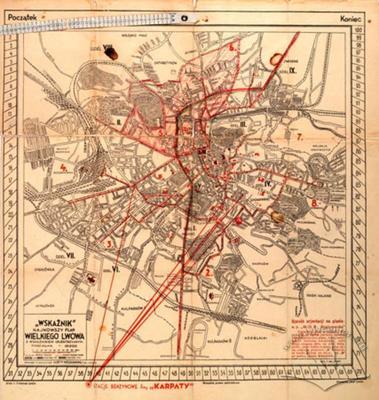 """Wskaznik"". The Newest Plan of Great Lwow with Orientation Index"