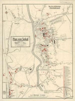 Plan of Sokal