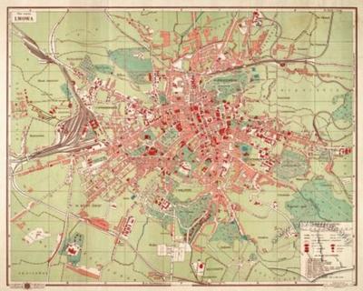 Plan of Lviv