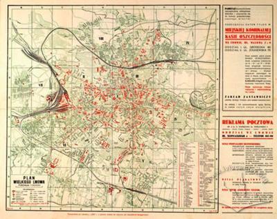 Plan of Great Lwow