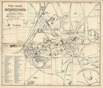 Map of the City of Inowroclaw