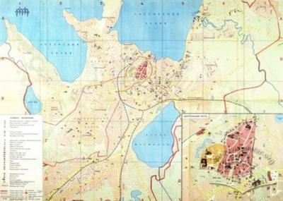 Tallinn. Tourist Map