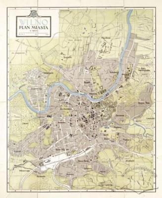 Vilnius. City Map