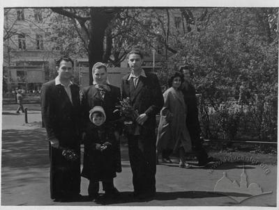 Lviv Family. Palm Sunday