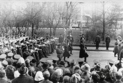 Military Parade in Lviv