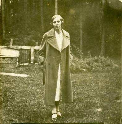 Portrait of Woman Dressed in Coat