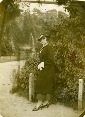 Жінка в парку