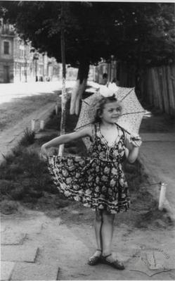 Portrait of a Girl with Umbrella
